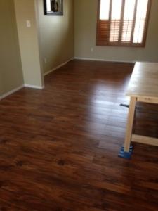 We have floors!!!!!
